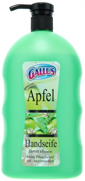 Flüssigseife Apfel - Gallus Soap — Bild N1