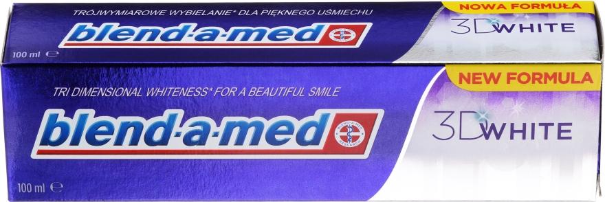 Aufhellende Zahnpasta 3D White - Blend-a-med 3D White Toothpaste