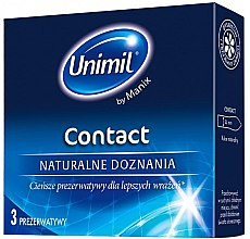 Düfte, Parfümerie und Kosmetik Kondome Contact 3 St. - Unimil Contact