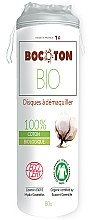Düfte, Parfümerie und Kosmetik Bio Wattepads 80 St. - Bocoton