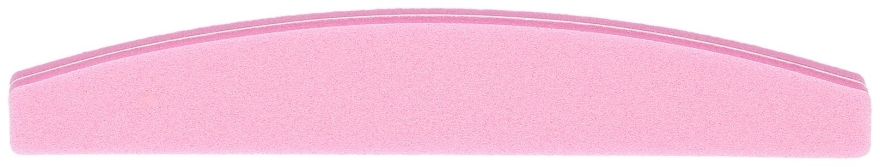 Nagelfeile Halbmond 100/180 rosa - Tools For Beauty