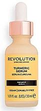 Düfte, Parfümerie und Kosmetik Gesichtsserum mit Kurkumawurzelextrakt, Traubenkern- und Sonnenblumenöl - Revolution Skincare Turmeric Serum