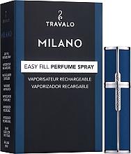 Düfte, Parfümerie und Kosmetik Nachfüllbarer Zerstäuber - Travalo Milano Blue