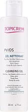 Düfte, Parfümerie und Kosmetik Reinigungsgel gegen Schuppen - Topicrem PV/DS Cleansing Gel
