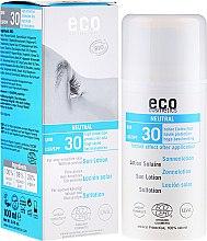 Düfte, Parfümerie und Kosmetik Sonnenschutzlotion aromafrei SPF 30 - Eco Cosmetics Sun Lotion SPF 30