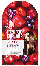 Düfte, Parfümerie und Kosmetik Feuchtigkeitsspendende und glättende Haarmaske mit Apfel und Weintrauben - Superfood For Skin Fresh Food For Hair