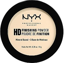 Düfte, Parfümerie und Kosmetik Mattierender langanhaltender Puder - NYX Professional Makeup High Definition Finishing Powder