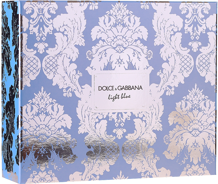 Dolce&Gabbana Light Blue - Duftset (Eau de Toilette 100ml + Körpercreme 75ml + Eau de Toilette 10ml)