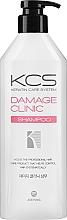 Düfte, Parfümerie und Kosmetik Regenerierendes und pflegendes Shampoo für strapaziertes Haar - KCS Demage Clinic Shampoo