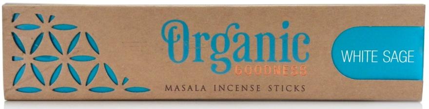 Duftstäbchen Weißer Salbei - Song Of India Organic Goodness White Sage