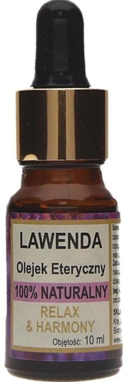 100% Natürliches ätherisches Lavendelöl - Biomika Lavender Oil