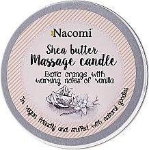 Düfte, Parfümerie und Kosmetik Massagekerze Shea Butter - Nacomi Shea Butter Massage Candle Exotic Orange with Warming Notes of Vanilla