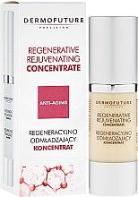 Düfte, Parfümerie und Kosmetik Regenerierendes Anti-Aging Gesichtskonzentrat mit Retinol, Coenzym Q10 und Seidenprotein - DermoFuture Regenerative Rejuvenating Concentrate