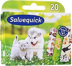 Düfte, Parfümerie und Kosmetik Wasserfeste Kinder-Pflaster Animal Planet - Salvequick Animal Planet