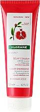 Düfte, Parfümerie und Kosmetik Haarcreme mit Granatapfel für gefärbtes Haar ohne Ausspülen - Klorane Color Enhancing Leave-In Cream With Pomegranate