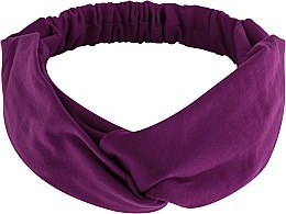 Düfte, Parfümerie und Kosmetik Haarband Knit Twist violett - MakeUp Hair Accessories