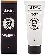Düfte, Parfümerie und Kosmetik Gesichts- und 3-Tage-Bart Creme - Percy Nobleman Face & Stubble Wash