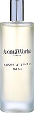 Düfte, Parfümerie und Kosmetik Raum- und Wäschespray mit Weihrauch- und Wacholderbeerenduft - AromaWorks Soulful Room Mist