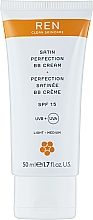 Düfte, Parfümerie und Kosmetik BB Creme SPF 15 - Ren Radiance Satin Perfection BB Cream