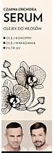 Düfte, Parfümerie und Kosmetik Haarserum-Öl mit schwarzer Orchidee, Hanf- und Macadamiaöl - WS Academy Black Orchid Serum Oil
