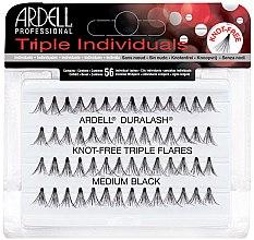 Düfte, Parfümerie und Kosmetik Wimpernbüschel-Set - Ardell Triple Individual Medium Black