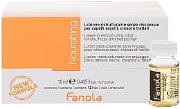 Düfte, Parfümerie und Kosmetik Restrukturierungslotion in Ampullen für trockenes Haar - Fanola Leave-In Restructuring Lotion