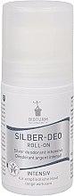 Düfte, Parfümerie und Kosmetik Intensives Silber-Deo Roll-on Antitranspirant - Bioturm Silver Deo Intensiv Roll-On No.37