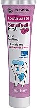 Düfte, Parfümerie und Kosmetik Kinderzahnpasta mit Blaubeergeschmack ab 6 Monaten - Frezyderm SensiTeeth First Toothpaste
