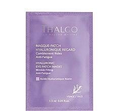 Düfte, Parfümerie und Kosmetik Anti-Falten Augenkonturmaske mit Hyaluronsäure - Thalgo Hyaluronic Eye-Patch Masks