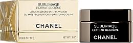 Düfte, Parfümerie und Kosmetik Regenerierender Creme-Extrakt mit Vanilla Planifolia für Gesicht - Chanel Sublimage L'extrait De Creme
