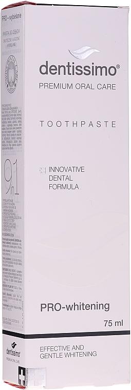Aufhellende Zahnpasta - Dentissimo Pro-Whitening Tothpaste