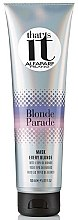 Düfte, Parfümerie und Kosmetik Nährende Haarmaske für blondes Haar - AlfaParf That's It Blonde Parade Mask