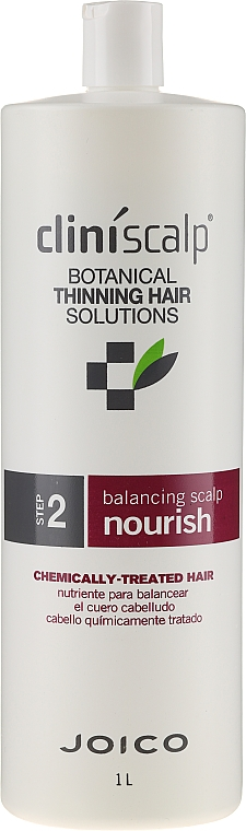 Ausgleichende und nährende Haarspülung für gefärbtes Haar - Joico Cliniscalp Balancing Scalp Nourish For Chemically Treated Hair — Bild N1