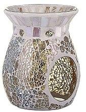 Düfte, Parfümerie und Kosmetik Aromalampe - Yankee Candle Gold & Pearl Crackle Wax Melt Warmer