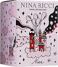 Düfte, Parfümerie und Kosmetik Nina Ricci Nina - Duftset (Eau de Toilette 80ml + Eau de Toilette Roll-on 10ml)