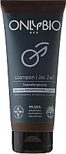 Düfte, Parfümerie und Kosmetik Shampoo & Duschgel - Only Bio Men 2in1Shampoo & Gel