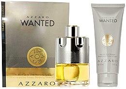 Düfte, Parfümerie und Kosmetik Azzaro Wanted Gift Set - Duftset (Eau de Toilette 100ml + Haar- und Körpershampoo 100ml)