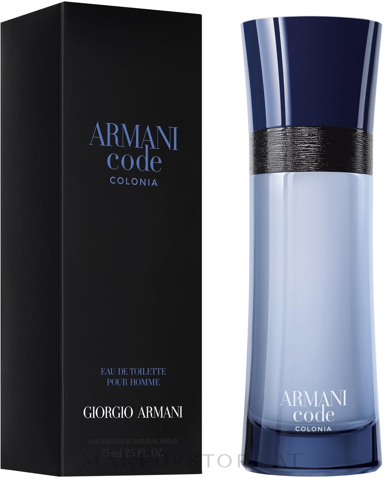 Giorgio Armani Armani Code Colonia - Eau de Toilette  — Bild 75 ml