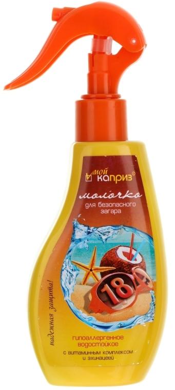 Wasserfestes Sonnenschutzöl mit Echinacea-Extrakt SPF 18 - My caprice  — Bild N1
