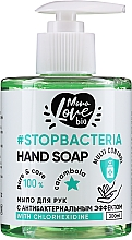Düfte, Parfümerie und Kosmetik Antibakterielle Handseife Karambola-Kurkuma - MonoLove Bio Hand Soap With Chlorhexidine