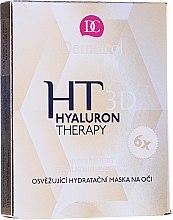 Düfte, Parfümerie und Kosmetik Intensive Augenpartie Maske - Dermacol Hyaluron Therapy 3D Refreshing Eye Mask