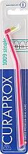 Düfte, Parfümerie und Kosmetik Einbüschelbürste CS 1009 Single himbeerrot - Curaprox