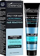 Düfte, Parfümerie und Kosmetik Enthaarungscreme für Männer - Bielenda Only For Man Active Formula Cream