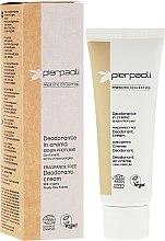 Düfte, Parfümerie und Kosmetik Parfümfreies Creme-Deodorant - Pierpaoli Prebiotic Collection Cream Deodorant