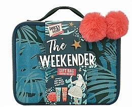 Düfte, Parfümerie und Kosmetik Körperpflegeset - Dirty Works The Weekender Gift Bag (Duschgel 200ml + Körperlotion 200ml + Badeschwamm)