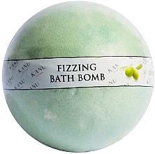 Düfte, Parfümerie und Kosmetik Sprudelnde Badebombe mit Olivenduft - Kanu Nature Fizzing Bath Bomb Olive Tree