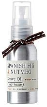 Düfte, Parfümerie und Kosmetik Bath House Spanish Fig and Nutmeg - Rasieröl Feige & Muskatnuss