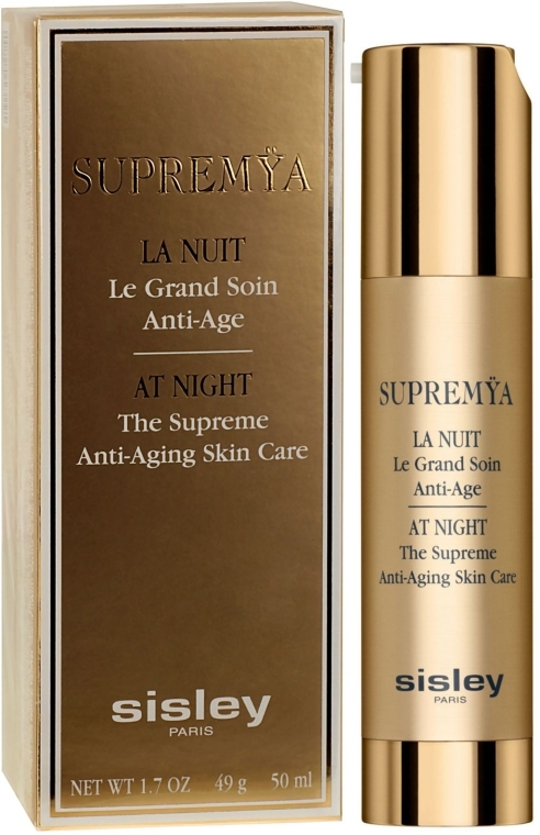Anti-Aging Gesichtscreme für die Nacht - Sisley Supremya At Night The Supreme Anti-Aging Skin Care — Bild N1