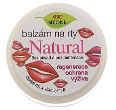 Düfte, Parfümerie und Kosmetik Natürlicher regenerierender Lippenbalsam mit Vitamin E - Bione Cosmetics Vitamin E