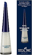 Düfte, Parfümerie und Kosmetik Nagelverhärter - Herome Nail Hardener Strong